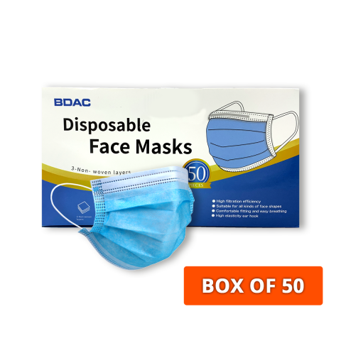 3-Ply Disposible Protective Face Mask