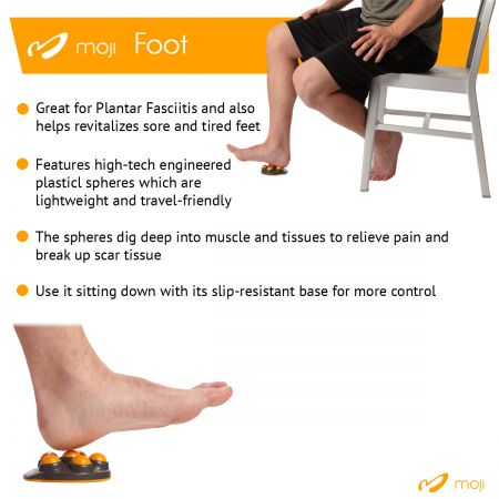 Moji Foot Massager Effective Common Foot Pain Relieving Product