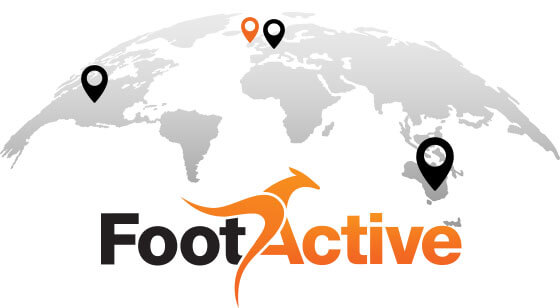 FootActive on the Globe