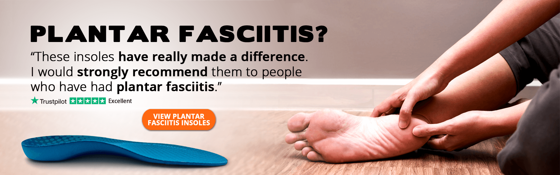 Plantar Fasciitis Insoles from FootActive
