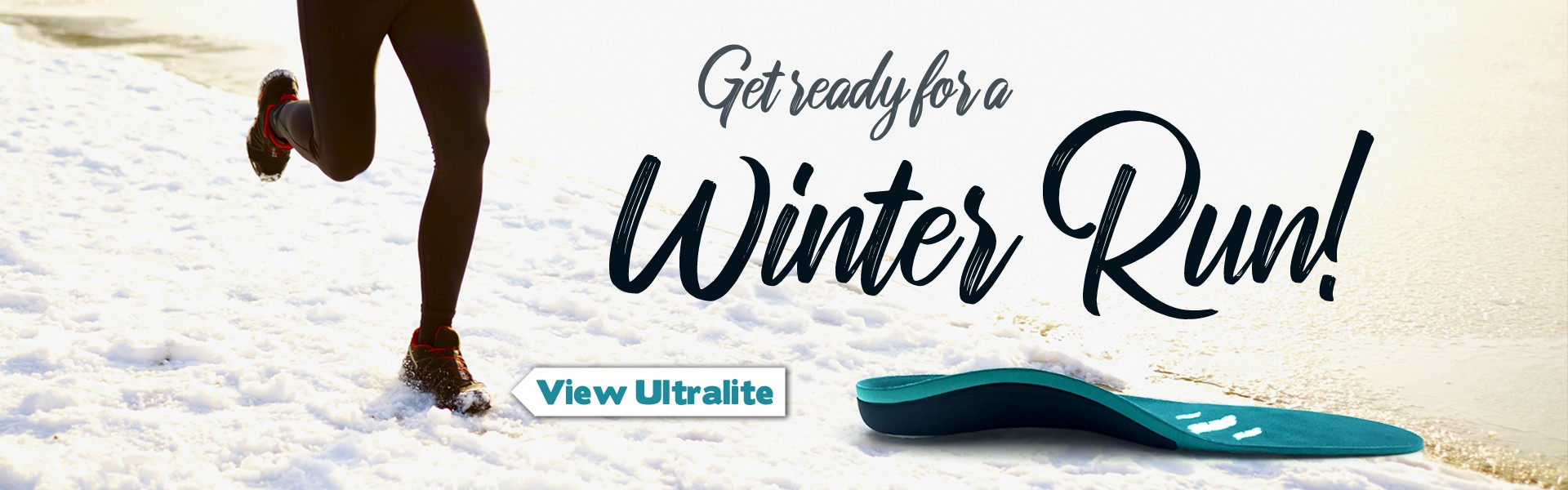 Get Ready for Winter Running with FootActive Ultralite